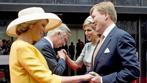 Belgische+en+NL+koningspaar+herdenking+S